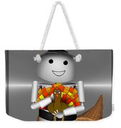 Robo-x9 The Pilgrim Weekender Tote Bag