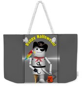 Robo-x9 Trick Or Treat Time Weekender Tote Bag