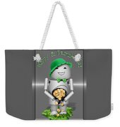 Robo-x9 With A Pot Of Gold Weekender Tote Bag