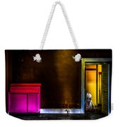 Robot In The Closet Weekender Tote Bag