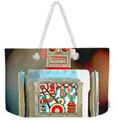 Robot Pop Art R-1 Weekender Tote Bag
