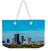 Rochester Ny Skyline Weekender Tote Bag