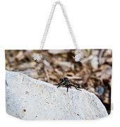 Rock And Robber Fly Weekender Tote Bag