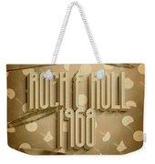 Rock And Roll 1968 Weekender Tote Bag