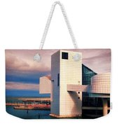 Rock And Roll Hall Of Fame Weekender Tote Bag