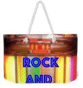 Rock And Roll Jukebox Weekender Tote Bag