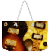 Rock And Roll Never Forgets Weekender Tote Bag