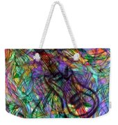 Rock And Roll Party Weekender Tote Bag