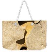 Rock And Sand Weekender Tote Bag