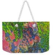 Rock And Shrub Abstract Bright Weekender Tote Bag