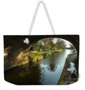 Rock Bridge Shadows  Weekender Tote Bag