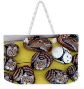Rock Cats And Fawns Weekender Tote Bag