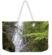 Rock Climbers At Graymare's Tail Falls Weekender Tote Bag