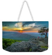 Rock Climbing At Ravens Roost Weekender Tote Bag