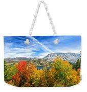 Rock Creek Lake Fall Panorama Weekender Tote Bag