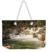 Rock Creek White Water Weekender Tote Bag