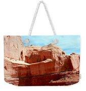 Rock Formation Of Red Sandstone Arches National Park Weekender Tote Bag
