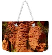 Rock Formations Created By Erosion Weekender Tote Bag