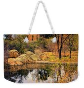 Rock House At Granite Dells Weekender Tote Bag by Priscilla Burgers