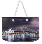 Rock Into The Night Weekender Tote Bag