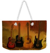 Rock N Roll Guitars Weekender Tote Bag