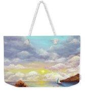 Rock Pools, Seascape Weekender Tote Bag