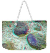 Rock Shapes 3 -use Red And Cyan 3d Glasses Weekender Tote Bag