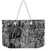 Rock Side Bw #g8 Weekender Tote Bag