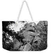 Rock Spirits At Yosemite B And W Weekender Tote Bag