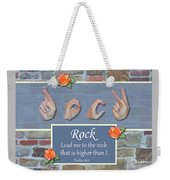 Rock That Is Higher Weekender Tote Bag