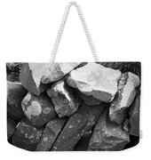 Rock Wall Doolin Ireland Weekender Tote Bag
