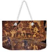 Rock Wall Of Petroglyphs Weekender Tote Bag