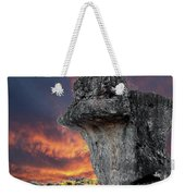 Rock Wallpaper Weekender Tote Bag