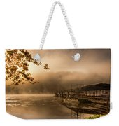 Rockaway Beach Dock 2 Weekender Tote Bag