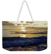 Rockaway Sunset #3 Enhanced #2 Weekender Tote Bag