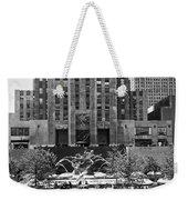 Rockefeller Center Plaza Weekender Tote Bag