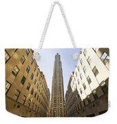 Rockefeller Centre Weekender Tote Bag