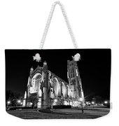 Rockefeller Chapel - B And W Weekender Tote Bag