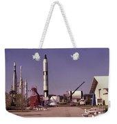 Rocket Garden Weekender Tote Bag