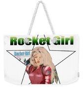 Rocket Girl Weekender Tote Bag