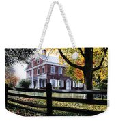 Rockford In Autumn Weekender Tote Bag