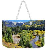 Rockies And Aspens - Colorful Colorado - Telluride Weekender Tote Bag