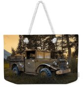 Rockies Transport Weekender Tote Bag