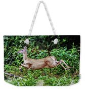 Rocking Deer Weekender Tote Bag