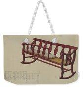 Rocking Settee Cradle Weekender Tote Bag