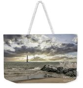 Rocking The Atlantic Ocean Weekender Tote Bag