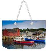 Rockport Harbor 2 Weekender Tote Bag