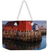 Rockport Ma Fishing Shack - #1 Weekender Tote Bag