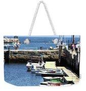 Rockport Ma Inner Harbor Weekender Tote Bag