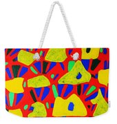 Rocks And Flowers Weekender Tote Bag